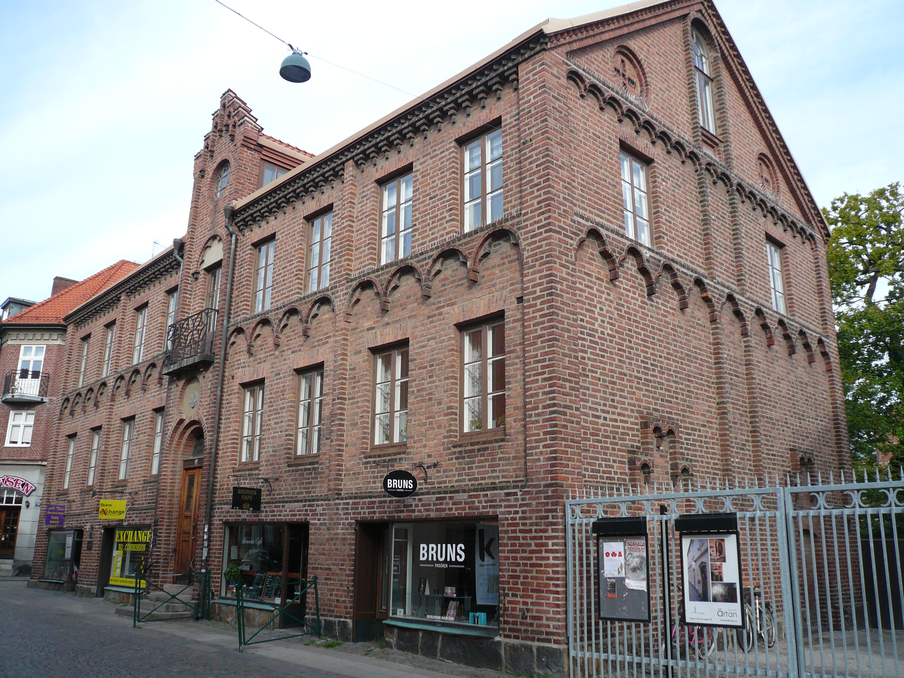 Bruniushuset I Lund Lansstyrelsen Skane