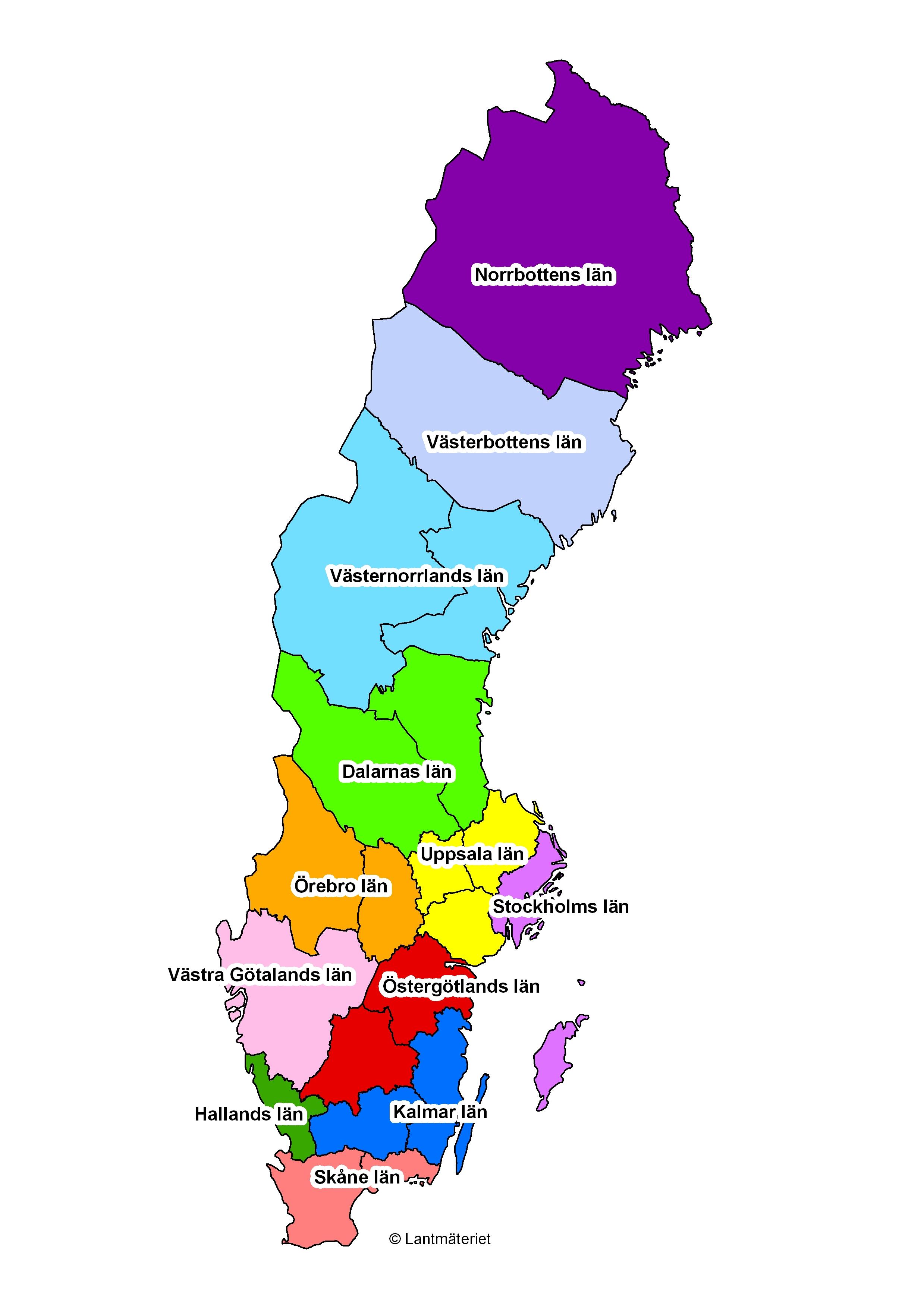Orebro Karta Sverige Karta 2020