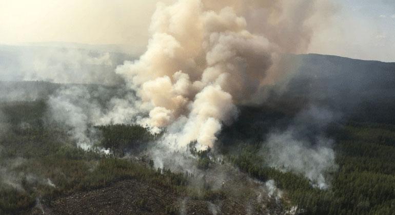 Karta Over Skogsbrander I Sverige.Skogsbranderna I Landet Lansstyrelsen Kronoberg