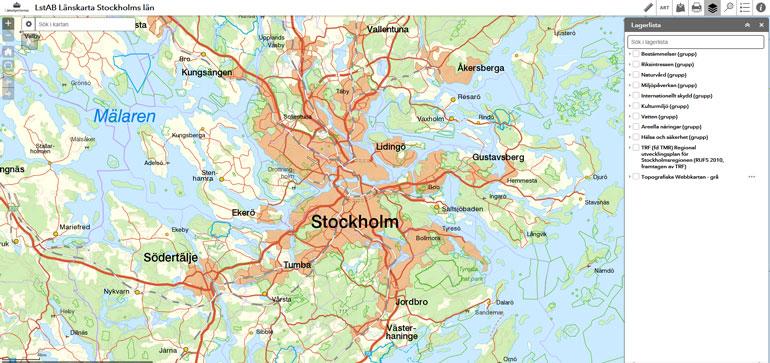 Karttjanster Och Geodata Lansstyrelsen Stockholm